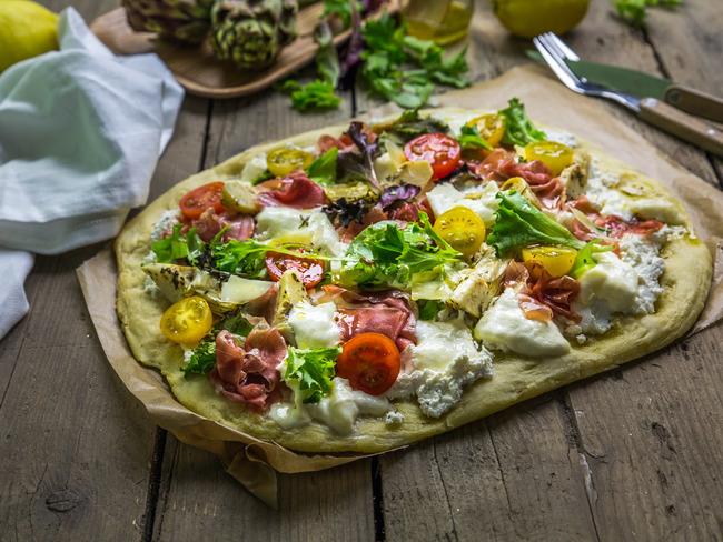 Pizza à l'artichaut