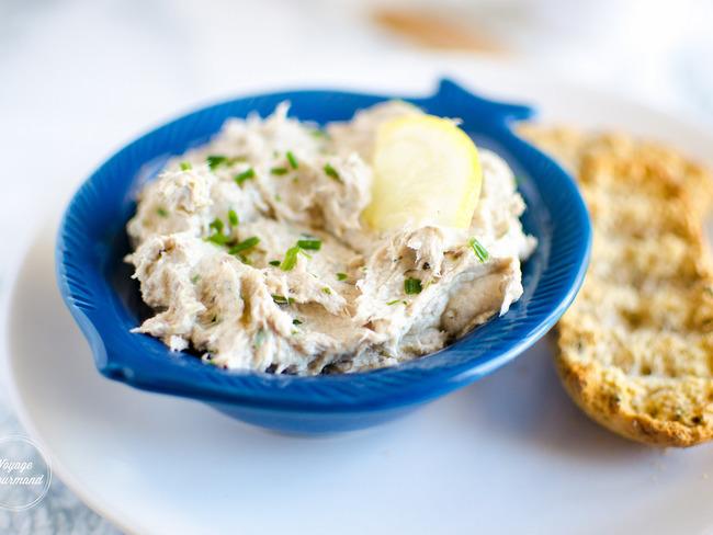 Rillettes de sardines au citron