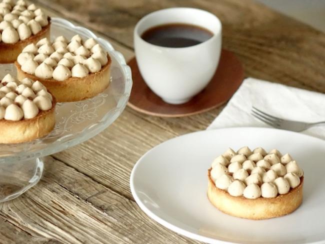 Tartelettes infiniment café