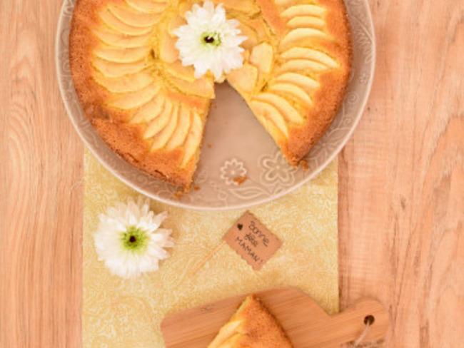 Gâteau aux pommes et à la frangipane