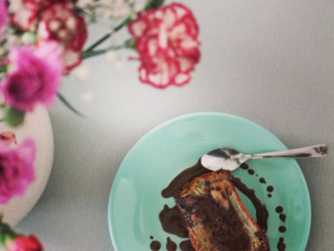 Cake poire/choco
