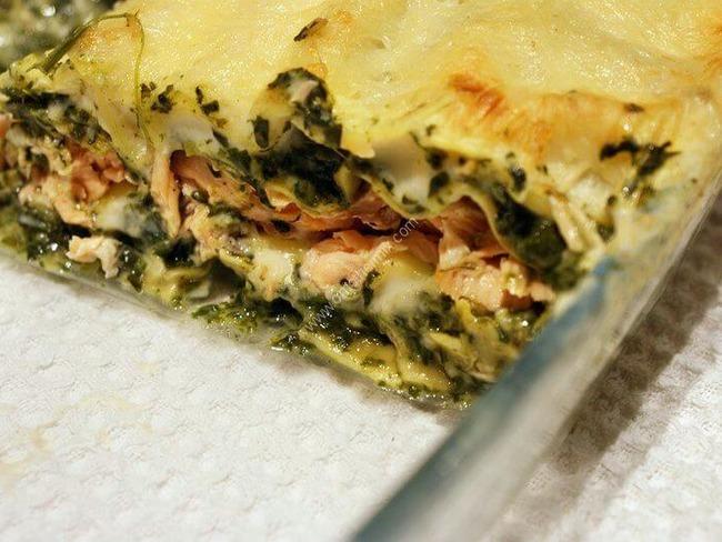 Lasagne Saumon Et Epinards Au Thermomix Facile Et Rapide Recette