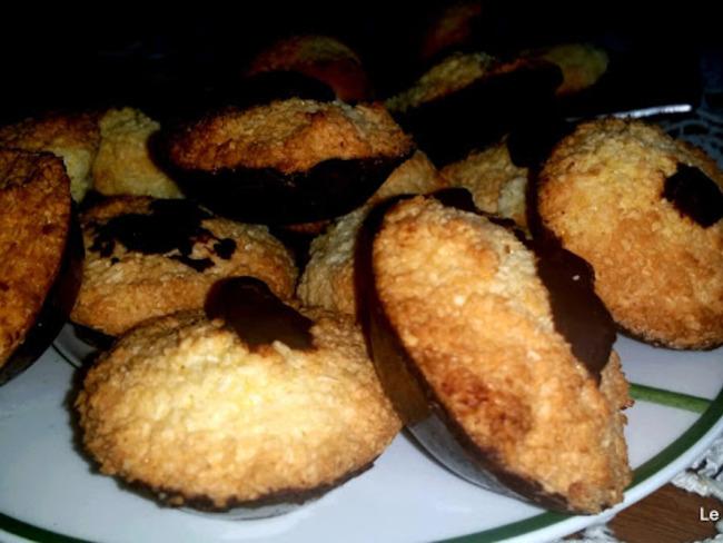 Rochers-congolais au chocolat