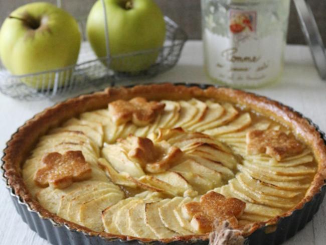 Tarte aux Pommes au beurre salé au sel de Guérande