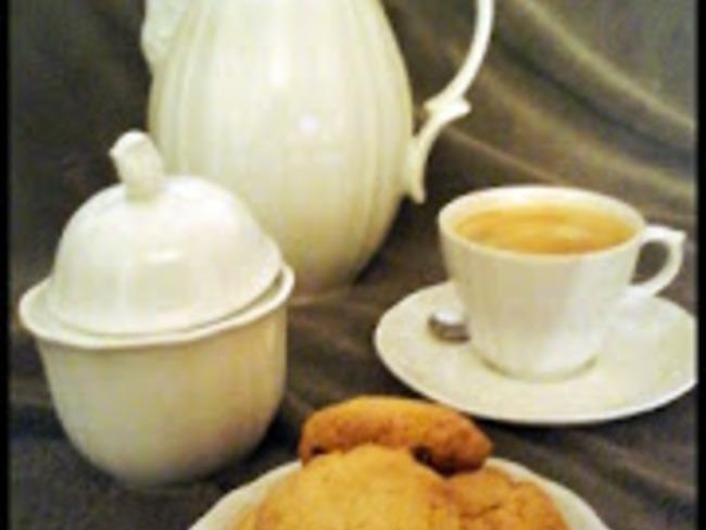"""Cookies anglais au sucre et extrait de vanille """"maison"""""""