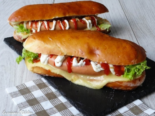 Hot-dog alsacien