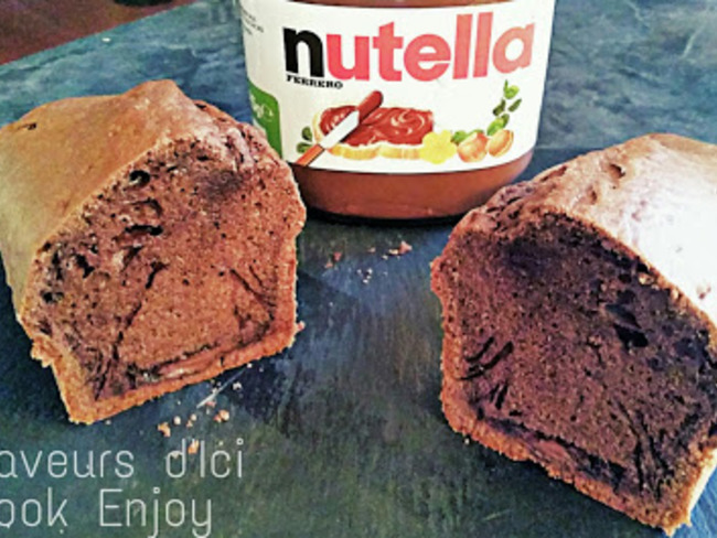 Gateau Moelleux au Nutella