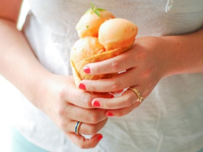 Sorbet melon verveine