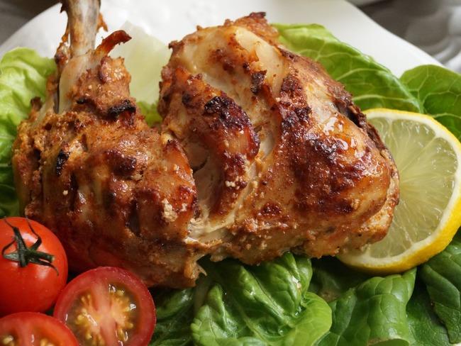 Cuisses de poulet indiennes facon tandoori
