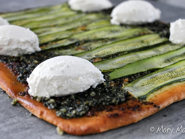 Des pizzas vertes mais pas forcément végétariennes