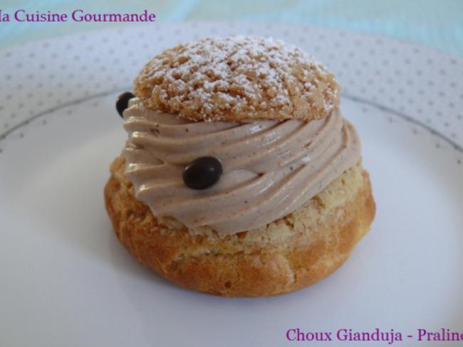 Choux Gianduja Praliné
