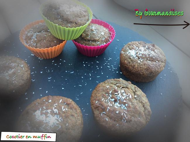 Le cocotier en muffins