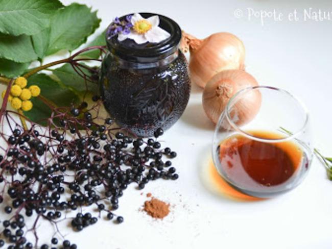 Chutney de baies de sureau noir
