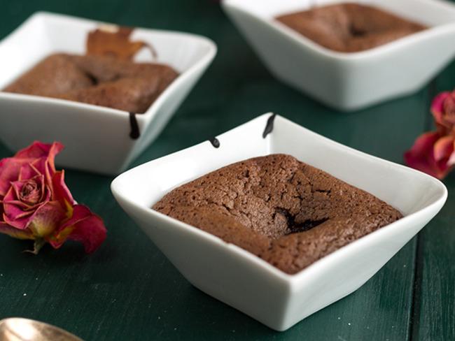 Fondant individuel au chocolat rapide - Recette par Une ...