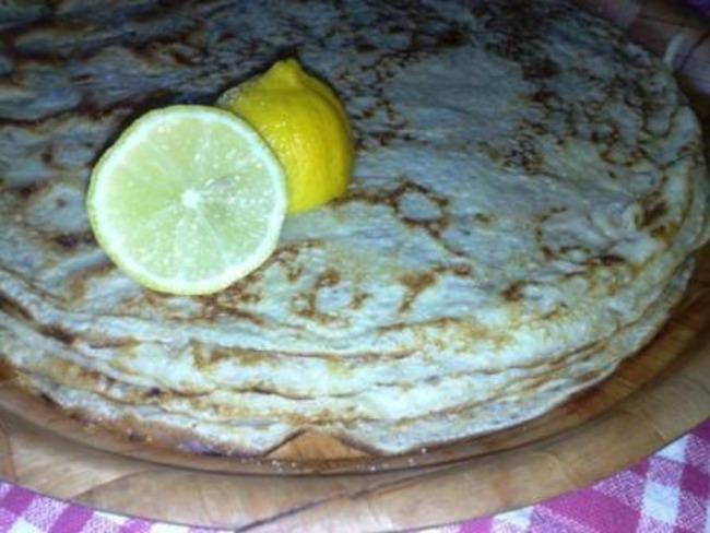 Crêpes au citron