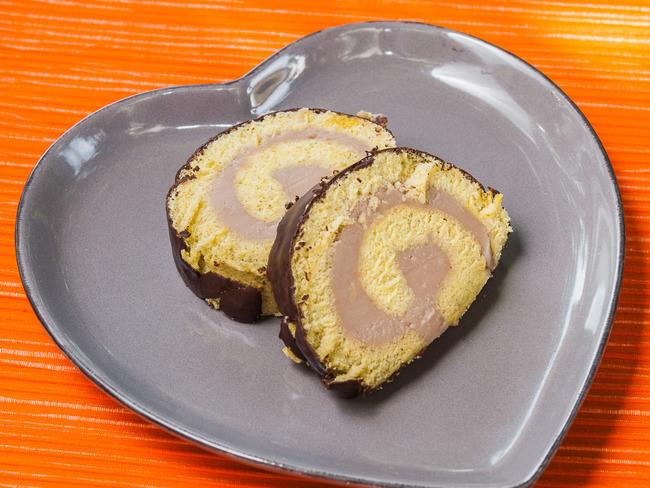Biscuit roulé aux châtaignes