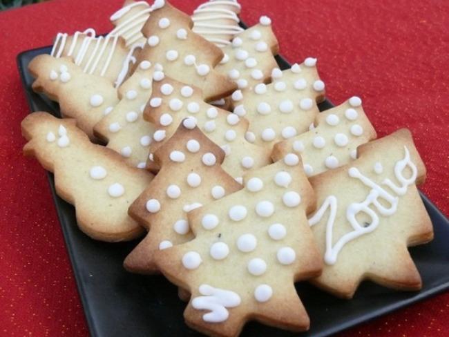 Sablés de Noël à la Fève de Tonka
