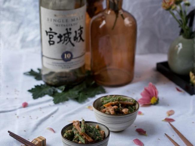 Salade japonaise sauce sésame
