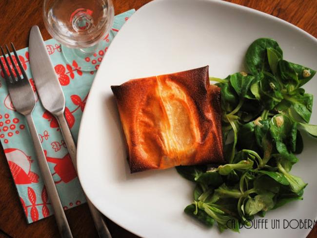 Brick pomme et camembert