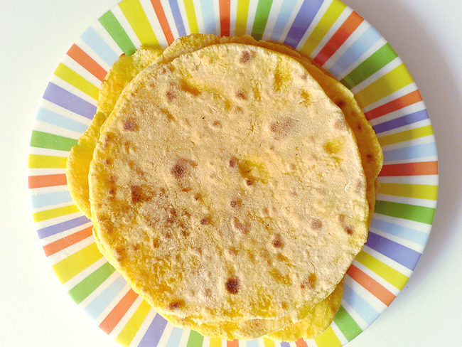 Tortillas au maïs