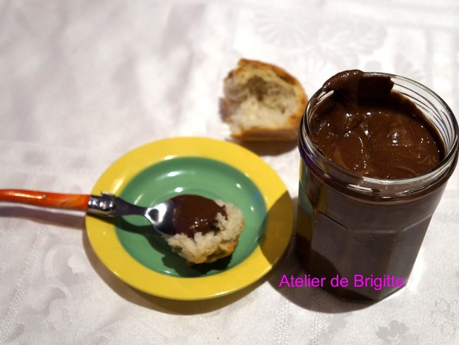 Pâte à tartiner chocolat et noisette