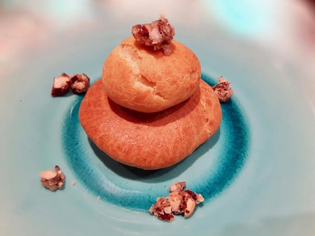 Mini-choux au potimarron et aux épices