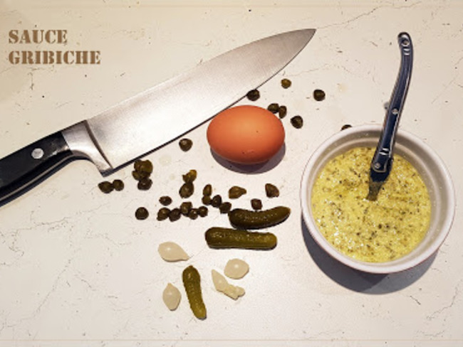 Sauce Gribiche inratable