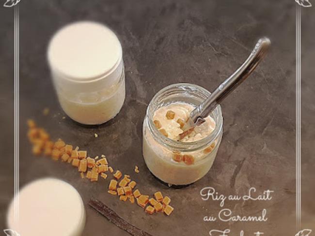 Riz au lait au Caramel Fondant