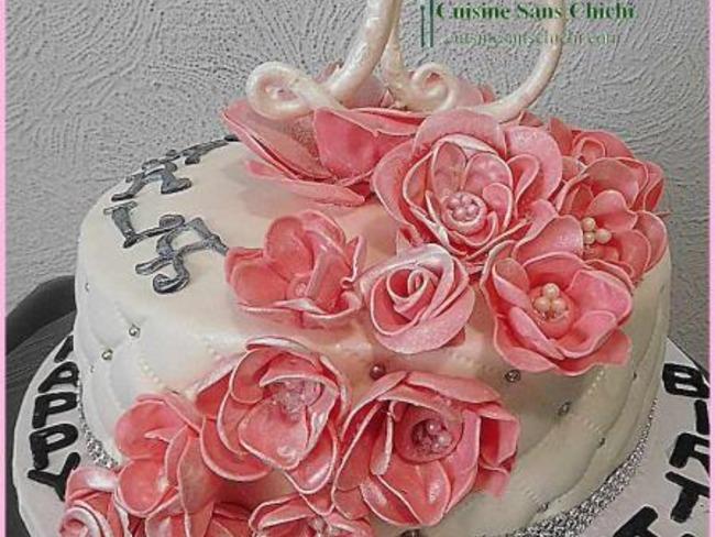 Gâteau à thème : 20 ans