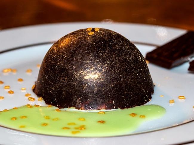 Dômes menthe chocolat façon After Eight