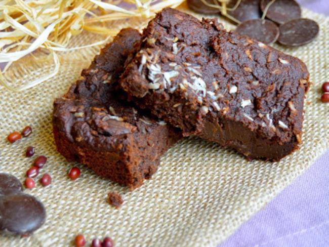 Brownie aux haricots azukis