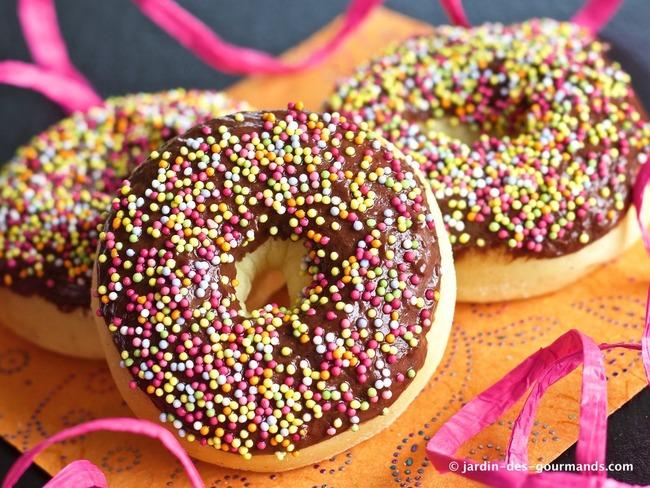 Donuts légers au four