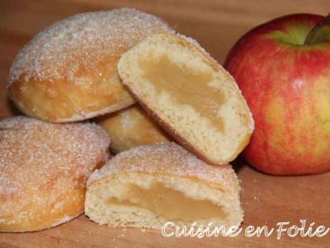 Beignets aux pommes au four
