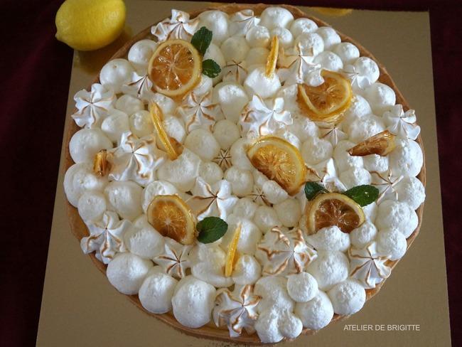 Tarte au citron surprenante