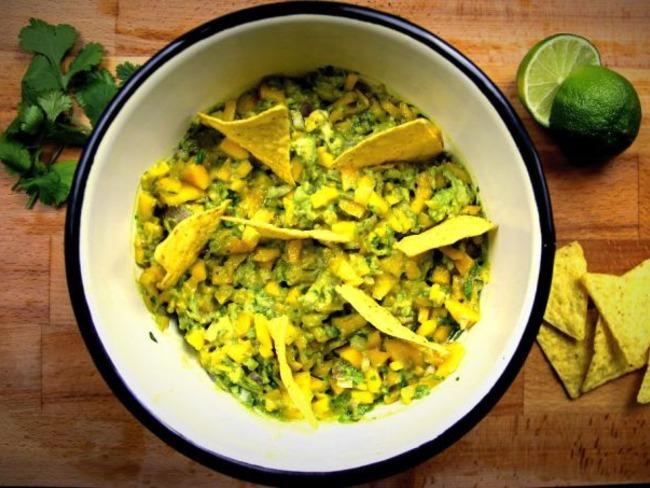 Guacamole à la mangue