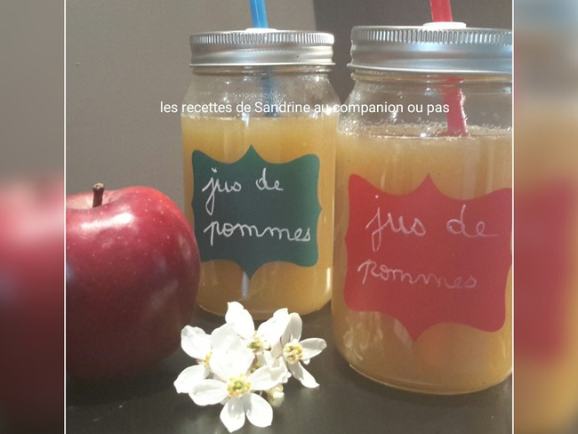 Jus de pommes fait maison sans centrifugeuse recette par recettes au companion ou pas - Jus de pomme maison ...