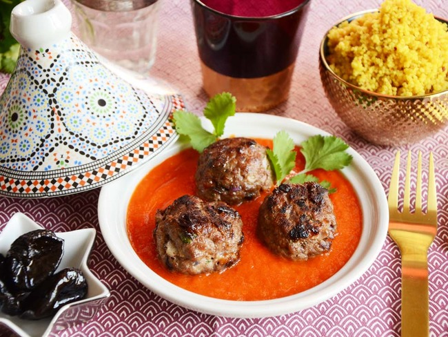 Boulettes d'agneau pruneau orange