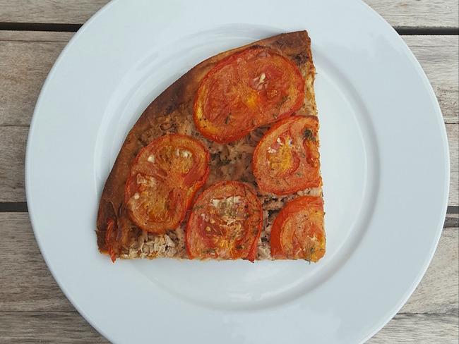 Tarte thon, tomates, aneth et moutarde