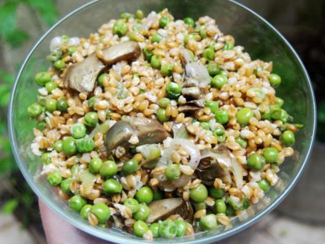 Petit peautre l artichaut et aux petits pois recette par cuisiner en paix - Cuisiner petit pois en boite ...