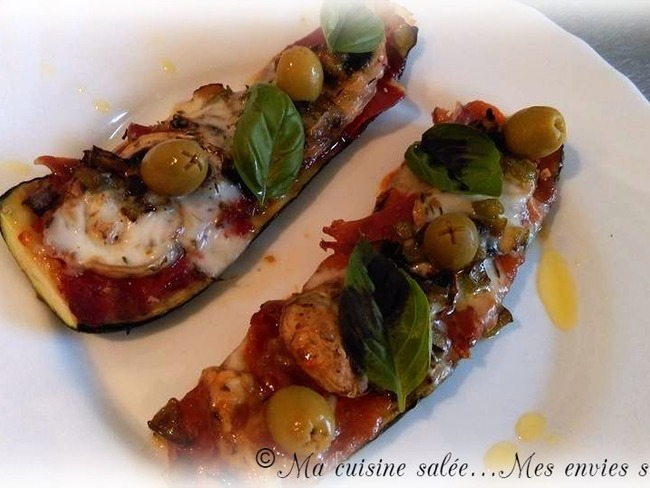 Courgettes pizz'