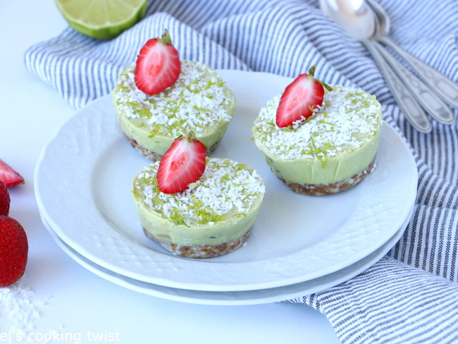 Mini key lime pies healthy