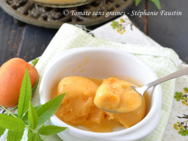 Sorbet abricot verveine