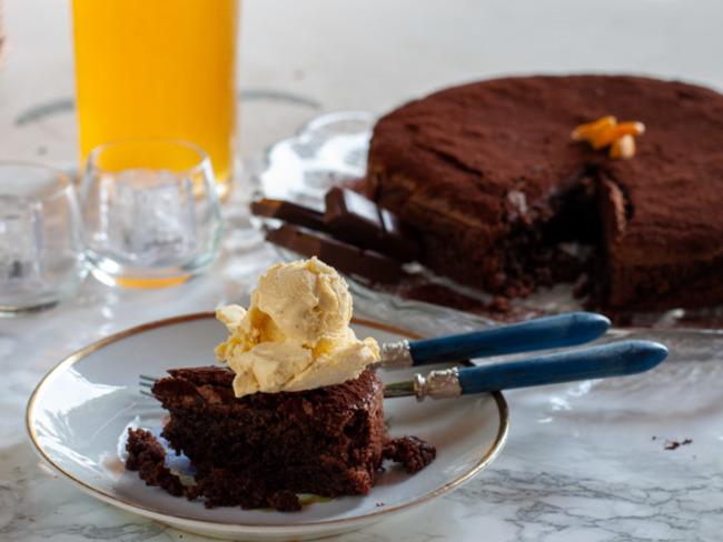 Cœliaque Caprese Gâteau aux amandes et chocolat