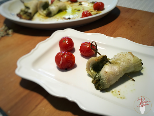 Filets de plie au pesto