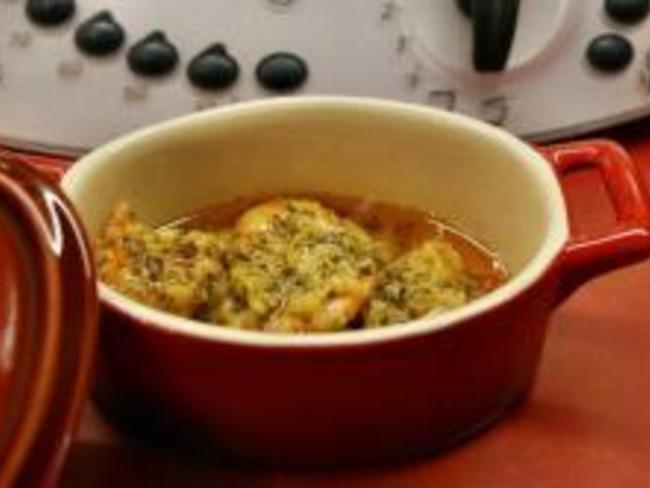 Langoustine au beurre à l'ail et au piment d'Espelette