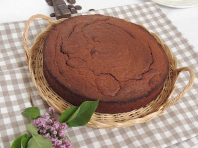 Gâteau mousseux au chocolat