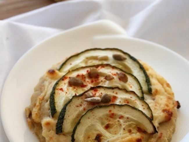 Tartelettes ricotta courgettes