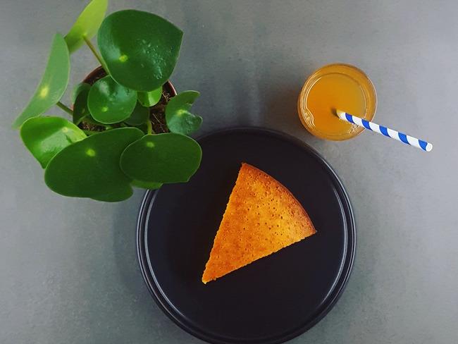 Gâteau au yaourt revisité coco et combava