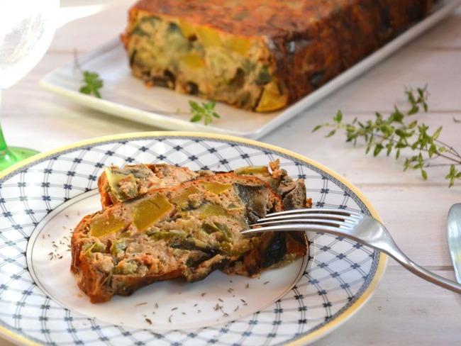 Terrine de légumes d'été provençale