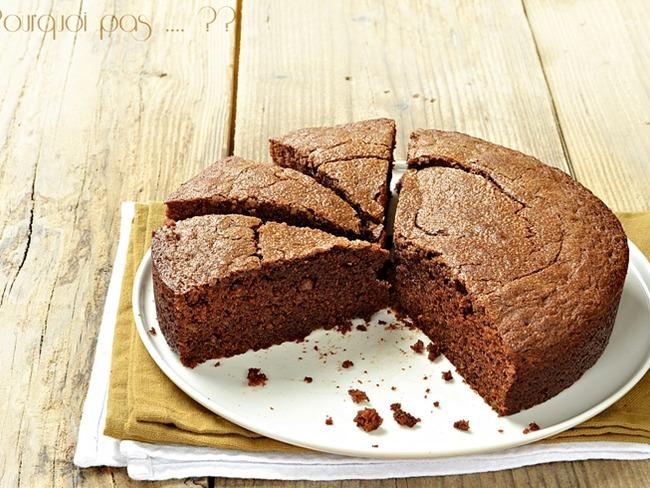 Gâteau au gianduja
